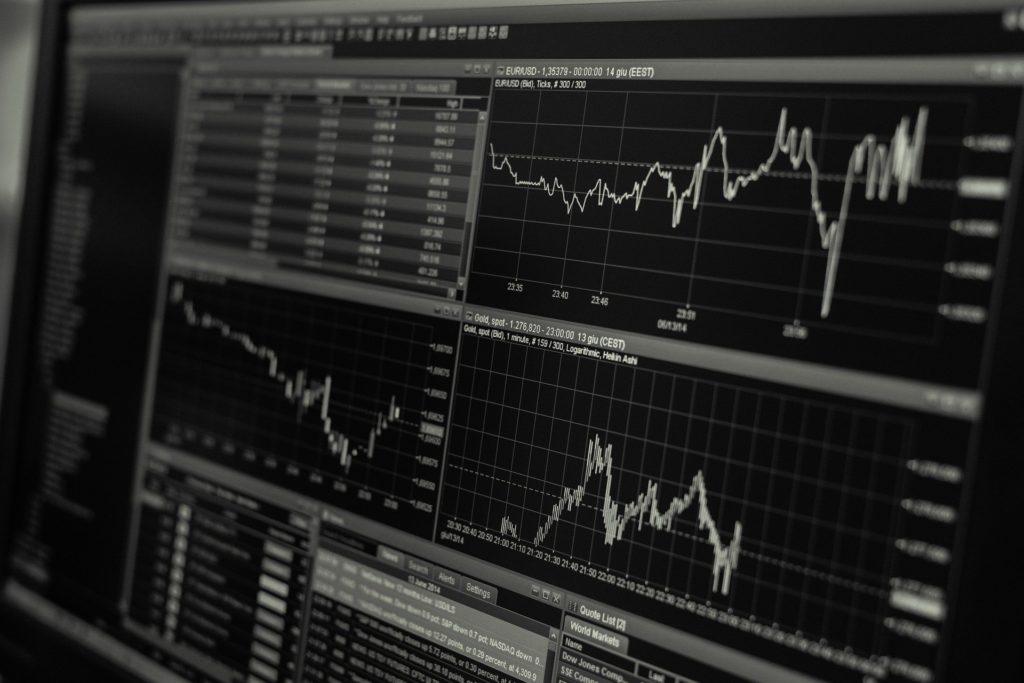 投資の株価チャート