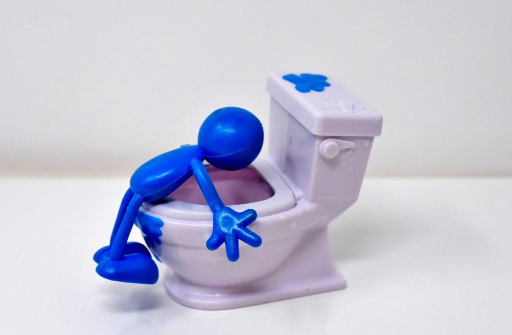 トイレを発見する画像