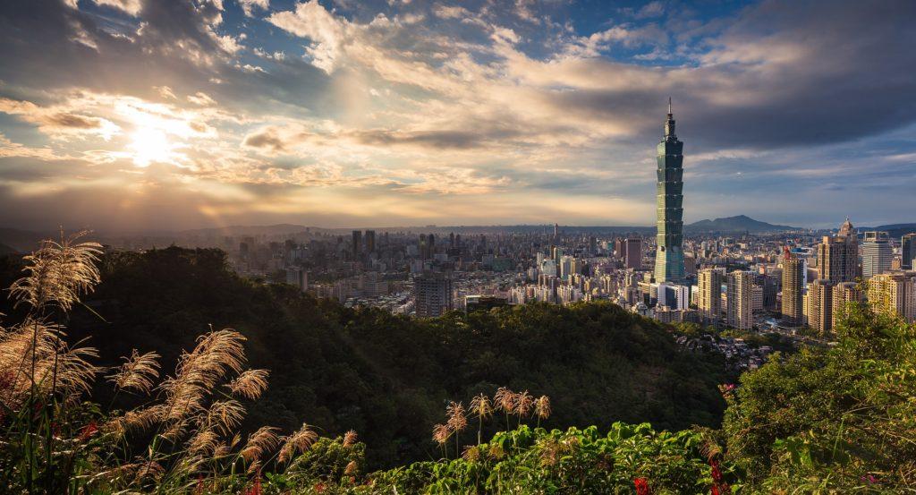 台湾(台北)の風景の画像